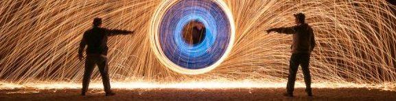 Espiral con lana de acero durante el curso con Mario Rubio